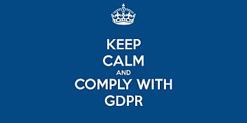 GDPR Keep Calm logo