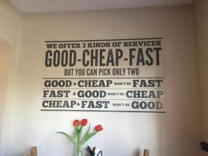 3 kinds of services
