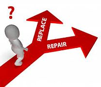 Replace or Repair image