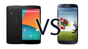 Comparing two android devices